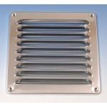 Aluminium schoepenrooster opbouw 195 x 195mm - ALU (1-2020A)