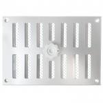 Aluminium afsluitbaar schuifrooster opbouw 215 x 150mm - ALU (3-2115AA)