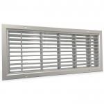 Brandwerend deurrooster 500 x 200mm (binnendeur toepassing)