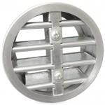 Brandwerend rond lamellenrooster Ø100mm - High Performance (vloer/buitenmuur toepassing)