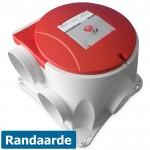 Stork Woonhuisventilator ComfoFan S R - Randaarde en radiografische ontvanger - 458004605
