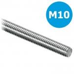 Draadeind/draadstang M10 verzinkt - L = 1000mm