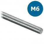 Draadeind/draadstang M6 verzinkt - L = 1000mm