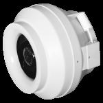 Buisventilator CYCLONE centrifugaal (hoge druk) - Ø125mm - EBM-papst motor 370 m3/h