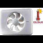 Nedco Fresh Intellivent CELSIUS - temperatuurgestuurde ventilator - WIT (331000)