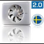 Nedco Fresh Intellivent design badkamerventilator 2.0 - WIT (330000)