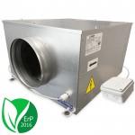 Blauberg ISO-B-250 boxventilator 1300 m3/h - geluidgedempt - ERP2016 - aansluiting 250mm
