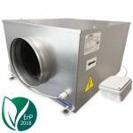 Blauberg ISO-B-100 boxventilator 240 m3/h - geluidgedempt - ERP2018 - aansluiting 100mm