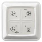 Itho RFT draadloze afstandsbediening WIT voor CVE woonhuisventilatoren (536-0124)
