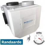 Itho woonhuisventilator CVE-S ECO RFT HE - High Performance - 415 m3/h - geschikt voor RF bediening (03-00402)