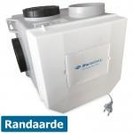 Itho woonhuisventilator met vochtsensor CVE-S ECO RFT SE - eurostekker - 325 m3/h - geschikt voor RF bediening
