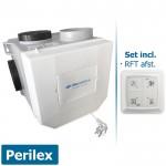 Itho woonhuisventilator met vochtsensor CVE-S ECO RFT SP - perilex - inclusief RFT AUTO afstandsbediening
