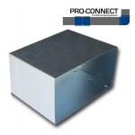 Koppelstuk voor HULPSTUKKEN 220 x 55mm - staal [Pro-C]