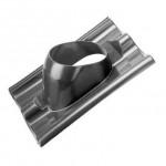 Kunststof dakpan sneldek SND 1-pans, voor doorvoer 166, dakhelling 25-45° (0170363)