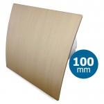 Pro-Design badkamer/toilet ventilator - STANDAARD (KW100) - Ø100mm - kunststof - goud