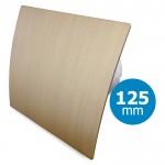 Pro-Design badkamer/toilet ventilator - STANDAARD (KW125) - Ø125mm - kunststof - goud