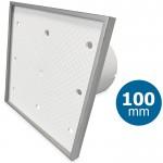 Pro-Design badkamer/toilet ventilator - STANDAARD (KW100) - Ø100mm - Tegelfront