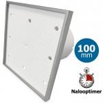 Pro-Design badkamer/toilet ventilator - MET TIMER (KW100T) - Ø100mm - Tegelfront