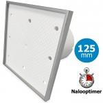 Pro-Design badkamer/toilet ventilator - MET TIMER (KW125T) - Ø125mm - Tegelfront