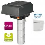 Pijpdakventilator MPV-10WRCO2 met CO2-bediening - max 380 m3/h - aansluiting Ø 125mm
