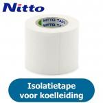 Nitto PVC Tape - Wit - Isolatietape voor koelleiding - 50mm (10 meter)