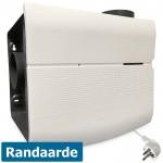 Orcon woonhuisventilator MVS-15R - 600 m3/h - randaarde - geschikt voor RF bediening