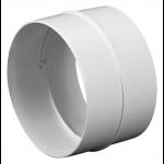 Kunststof verbinding voor buis - aansluitmaat Ø 125mm