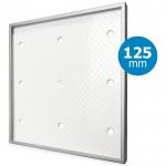 Design ventilatierooster vierkant (afvoer & toevoer) Ø125mm - Tegelfront