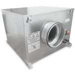 S&P CAB-125 ECOWATT energiezuinige EC boxventilator 485 m3/h - geluidgedempt - aansluiting 125mm