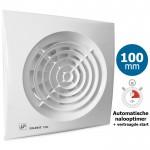 Badkamer/toilet ventilator Soler & Palau Silent (100CRIZ) Ø100mm - VERTRAAGDE START + AUTOMATISCHE TIMER