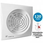 Badkamer/toilet ventilator Soler & Palau Silent (200CRIZ) Ø 120mm - VERTRAAGDE START + AUTOMATISCHE TIMER