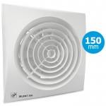 Badkamer/toilet ventilator Soler & Palau Silent (300CZ) - Ø 150mm - STANDAARD