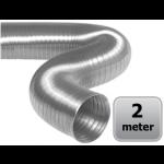 Semi-flexibele slang aluminium Ø 100mm (binnenmaat) - DOOS a 2 meter