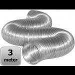 Semi-flexibele slang aluminium Ø 100mm (binnenmaat) - DOOS a 3 meter