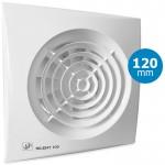 Badkamer/toilet ventilator Soler & Palau Silent (200CZ) - Ø 120mm - STANDAARD