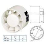 Soler & Palau Inschuif-buisventilator (TDM100) - Ø 100mm