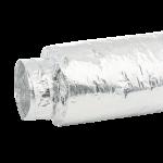 Flexibele geluidsdemper universeel Ø 160mm (schuift over hulpstuk 160mm)