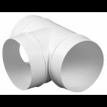 Kunststof T-stuk 90 graden - aansluitmaat Ø 150mm