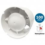 Blauberg TUBO100-T Inschuif-buisventilator - 102 m3/h - voor IN kanaal 100mm - MET TIMER