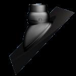 Universele Ubiflex 15 - 55° doorvoerpan geschikt voor dakdoorvoerpijp Multivent 131/5V (0174050)