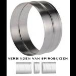 Verbinding voor spirobuis Ø 125mm