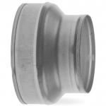 Verloopstuk voor spirobuis van Ø 125mm naar Ø 80mm