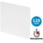 Pro-Design badkamer/toilet ventilator - MET TIMER (KW125T) - Ø125mm - vlak kunststof - wit