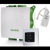 DucoBox Silent met randaarde stekker + VOCHT boxsensor + bedieningsschakelaar RF batterijgevoed