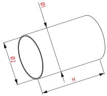 Kunststof kanaal PVC afmetingen