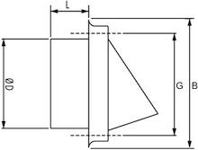 Gevelkap met grofmazig gaas roestvrij staal afmetingen