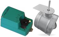 servomotor met regelklep voor elektrische bediening