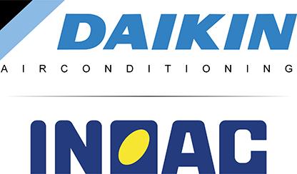Daikin en Inoac airco units, leidinggoot en hulpstukken - Ventilatieshop