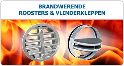 Brandwerende vlinderkleppen, brandkleppen en ventilatie roosters - Ventilatieshop