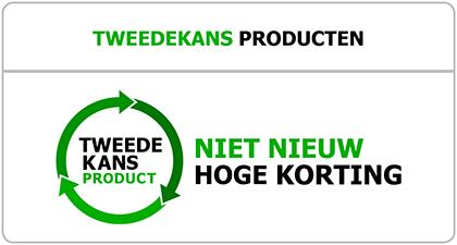TweedeKans producten - Niet nieuw, hoge korting - Ventilatieshop